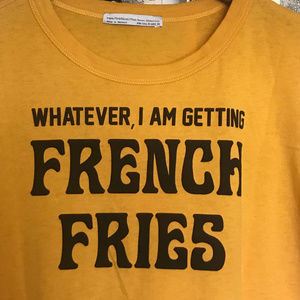 Zara TRF French Fries Graphic T-Shirt